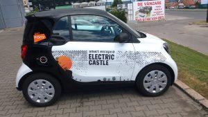 Electric Castle, decor auto, Pablo Sign, Pma Invest