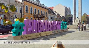 Litere volumetrice, Eurobaschet, Pma Invest, Pablo Sign