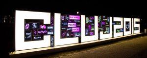 Litere volumetrice, Cluj 2015, Pma Invest, Pablo Sign