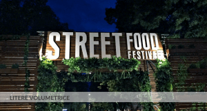Litere volumetrice, Street Food, Pma Invest. Pablo Sign