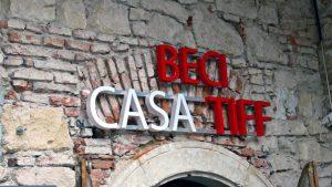 Litere volumetrice,TIFF, PMA Invest,Pablo Sign