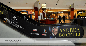 Decor autocolant, Andrea Bocelli, Pma Invest