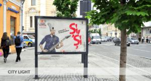 City light, PMA Invest, Zillele Clujului