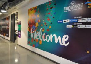 Eurobaschet 2017, Pma Invest, Pablo Sign, Print outdoor, print indoor, decor