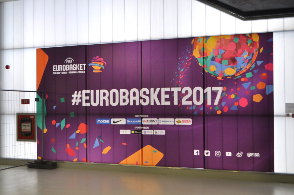 Eurobaschet 2017, Pma Invest, Pablo Sign, Print outdoor, print indoor, decor